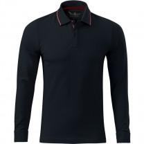 Tricou barbati polo Contrast Stripe LS 258 Malfini Premium