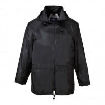S440BKR - Jacheta de ploaie negru ADULT CLASIC (PN)