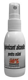 Igienizant pentru maini 70% alcool Clear Vision 50ml