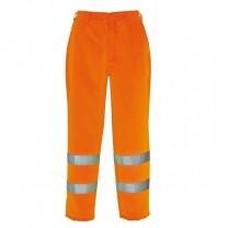 Pantaloni  protectie  HiVis Poly Cotton E041 Portwest