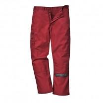 S891MAR - Pantaloni de lucru maron BRADFORD (PN)