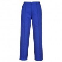 2885RBR - Pantaloni de lucru albastru PRESTON (PN)