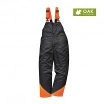 CH12BKR - Pantalon cu pieptar forestier negru OAK (P1W)