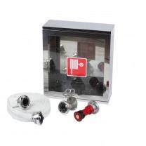 Cutie hidrant interior minibox inox 500x500x140 echipata avizata CE