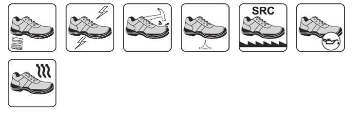 Pantofi de protectie NEW TRASIMENO S1P SRC